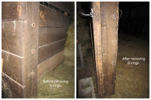 stall doorways - before and after